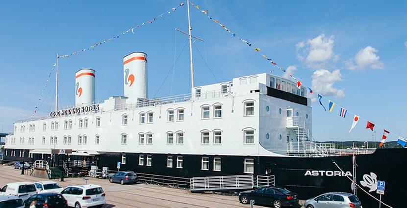 Ett annorlunda budgetalternativ. Nästa år får Sundsvall en ny hotellbåt i Södra Hamnen.