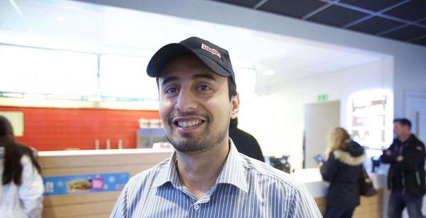 Tarek Malak är en av tre nominerade till tidningen Chefs pris.