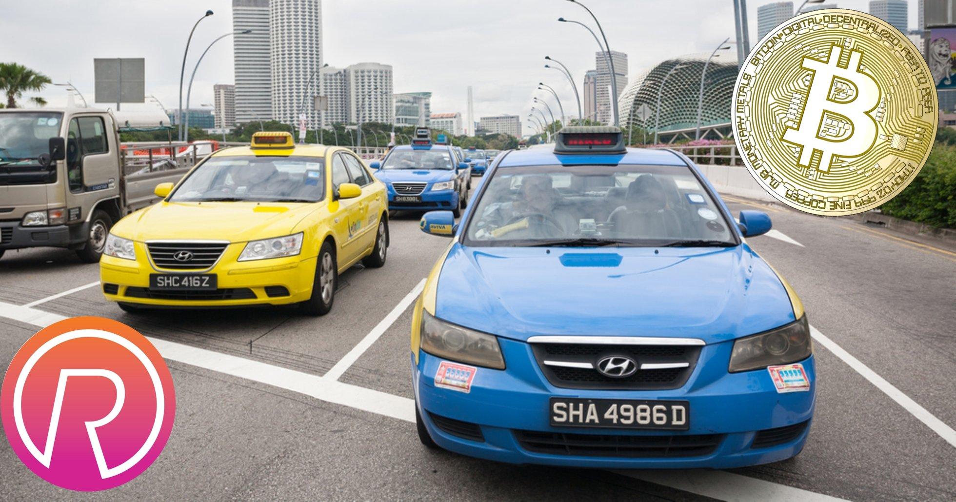Taxibolag i Singapore låter sina kunder betala för resor med bitcoin