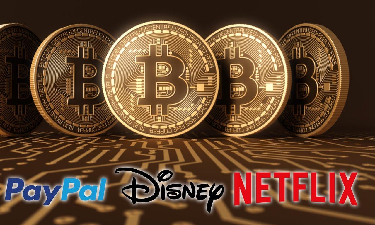 Bitcoin har ett högre marknadsvärde än Disney, Netflix och Paypal