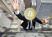 Bitcoinpriset rasar nästan 5 procent: