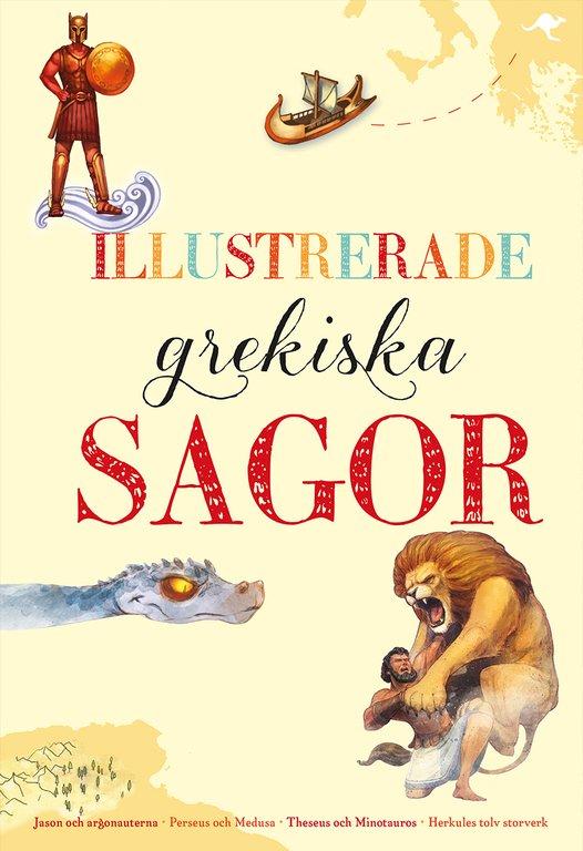 6 gudomliga barnböcker om grekisk mytologi