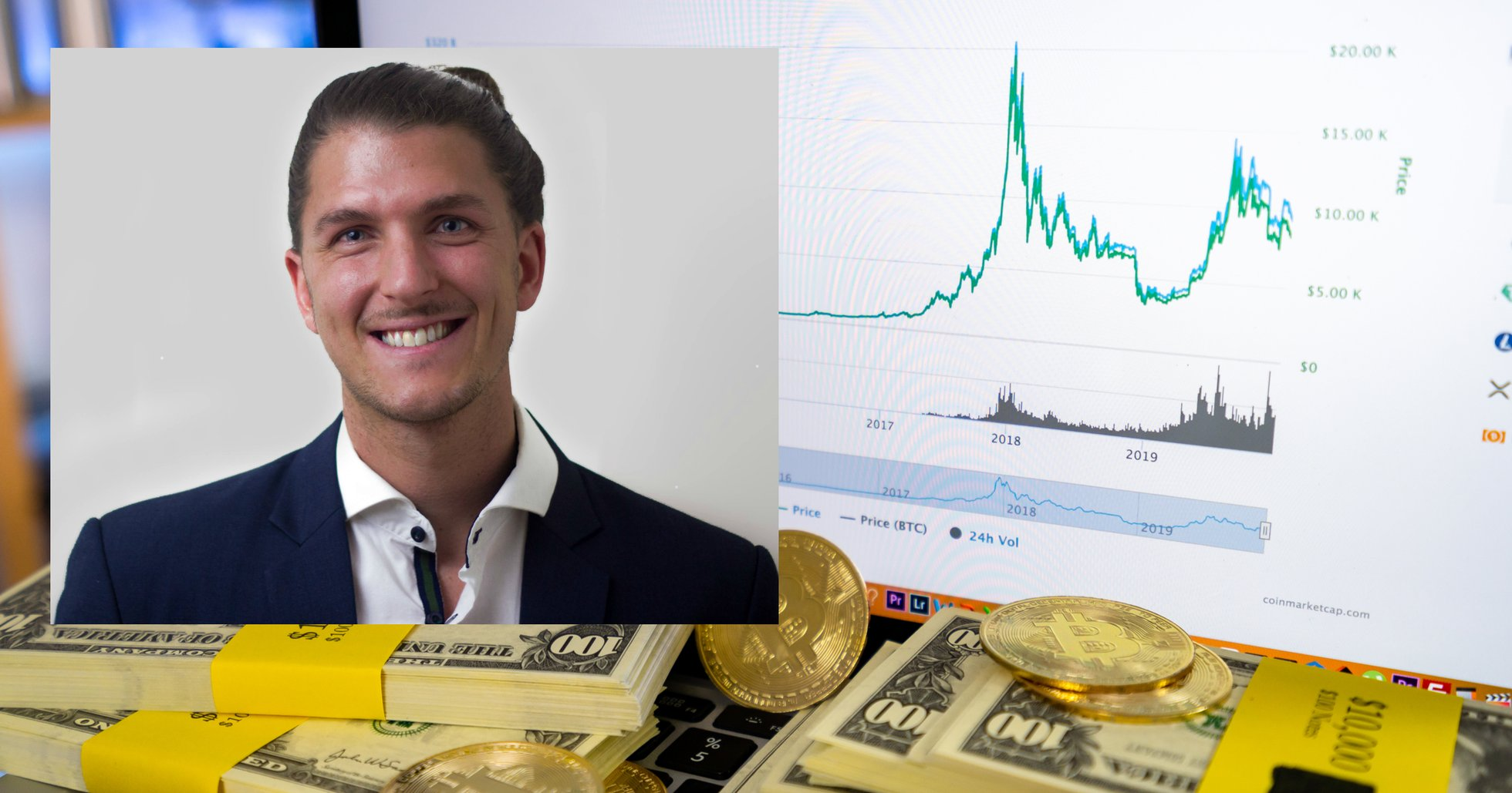 Dennis Sahlström: När bitcoinpriset når 10 000 dollar säljer jag 30 procent av min portfölj.