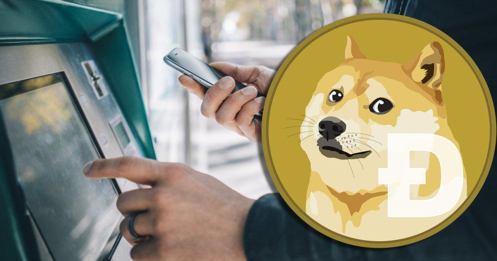 Nu finns dogecoin att köpa i 1 800 amerikanska bankomater