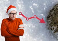 Inga uppgångar över jul och bitcoin cash faller 11 procent senaste dygnet