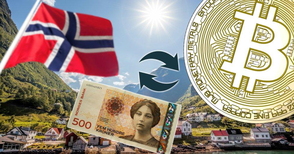Norwegian bitcoin exchange got its bank account shut down – revenue still increased by 1,000 percent.
