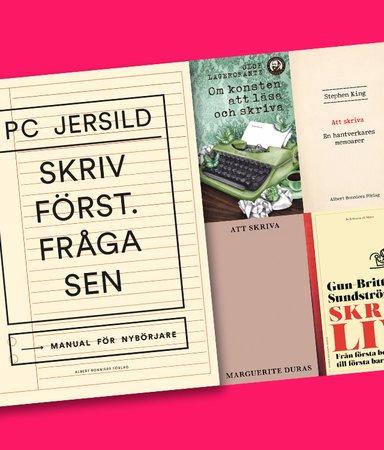 5 böcker om skrivande
