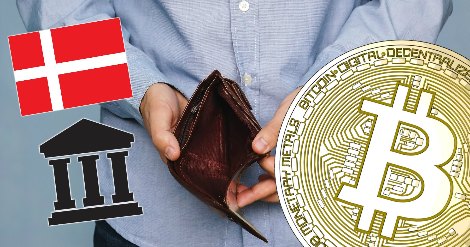 Danish bitcoin exchange goes bankrupt following dispute with credit card supplier.