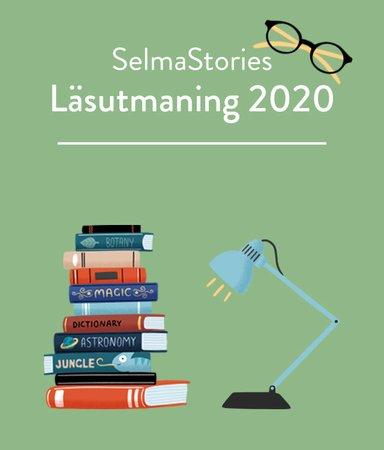Var med i SelmaStories roliga läsutmaning 2020