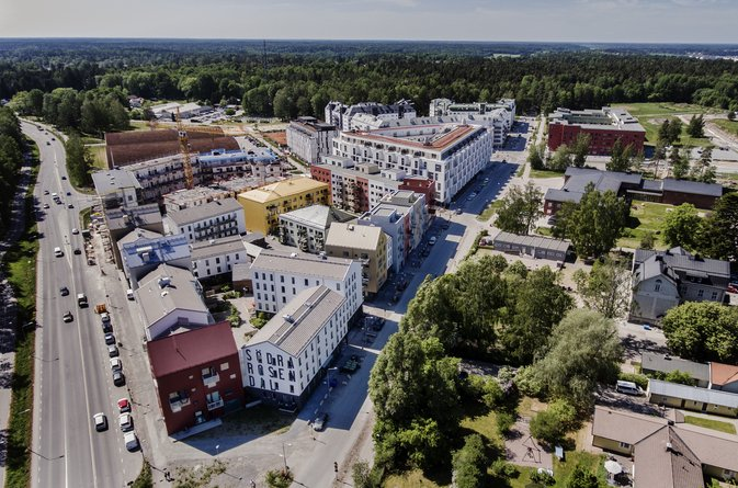 Åke Sundvall bygger prisvärda hyresrätter i Rosendal