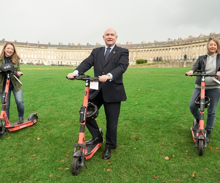 A Tale of Two Cities: Bath and Bristol start their Voi e-scooter trials