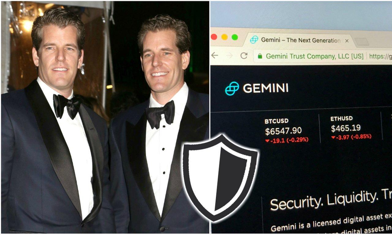 Winklevoss-tvillingarnas kryptobörs inför försäkringsskydd till sina kunder.