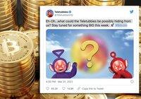 Mystiskt bitcoinmeddelande publicerat på Teletubbies officiella Twitter-konto