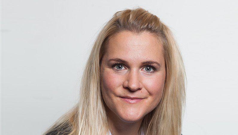 Vibeke Gyllenram, försäljningschef för divisionen Process Automation Energy Industries på ABB Sverige