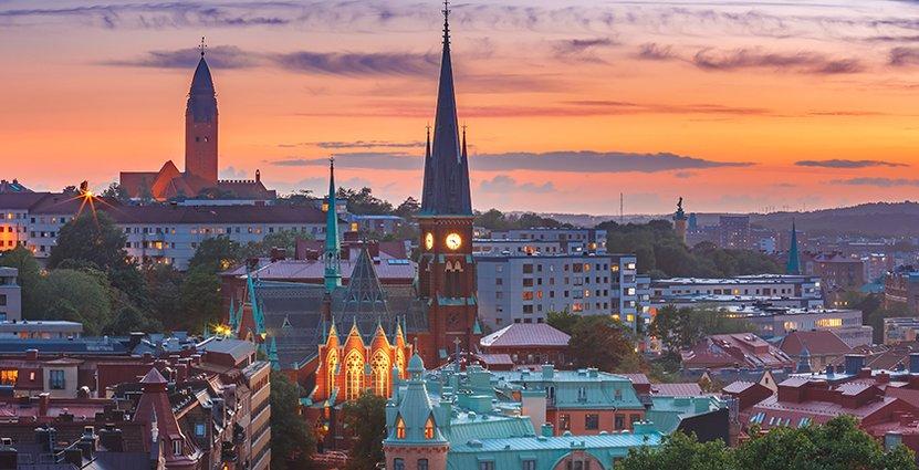 I morgon firas Göteborgs 400-årsdag – via länk.  Foto: Colourbox