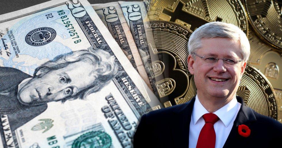 Kanadas förre premiärminister tror på bitcoin som reservvaluta