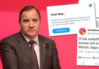 Swedish government party got their Twitter account bitcoin-hijacked – now the hackers reveal how and why they did it