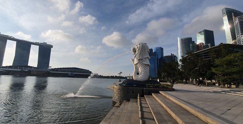 Inga turister på Singapores bästa plats för en selfie Anders Johansson