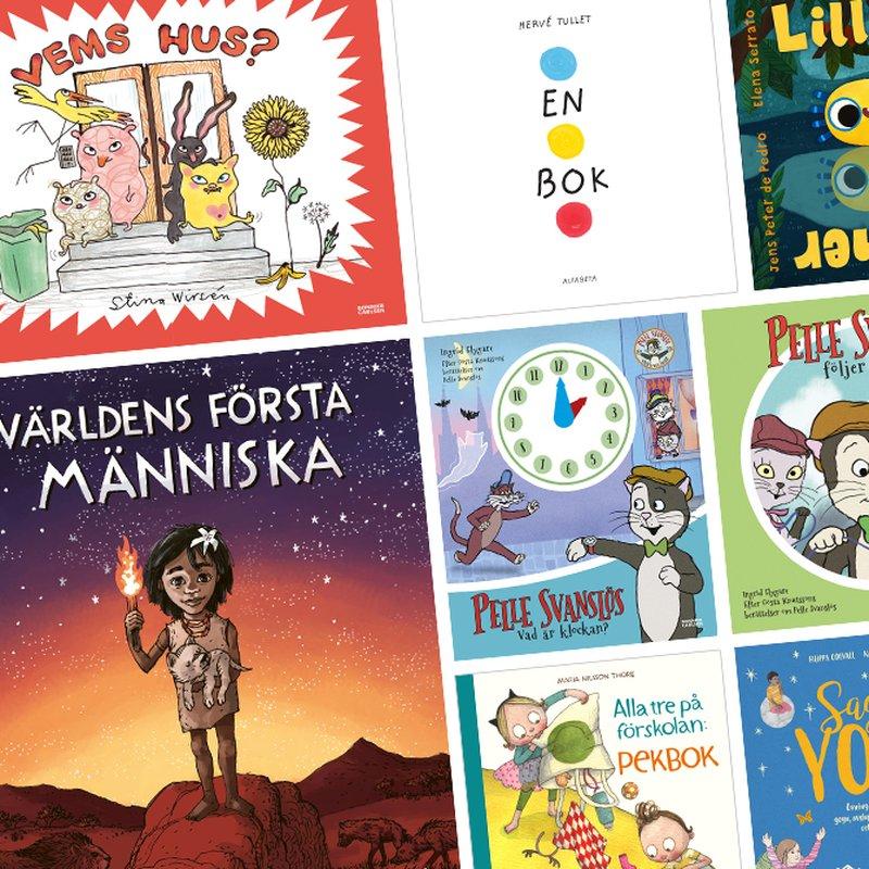 8 interaktiva böcker för de små