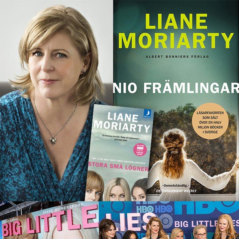 """Liane Moriarty: """"Jag smugglade in massa onyttigheter på hälsoresorten"""""""