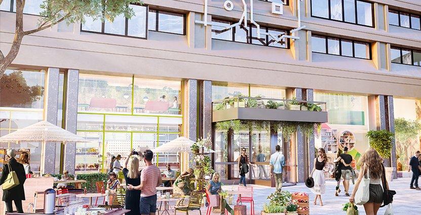 Urban Escape. Det är namnet på Stockholms nya heta hotellkvarter där Hobo öppnar.