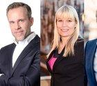 Henrik Fexeus, mentalist och författare; Peter Siljerud, framtidsforskare; Nina Jansdotter, beteendevetare och karriärcoach samt Olof Röhlander, inspiratör och mental tränare.