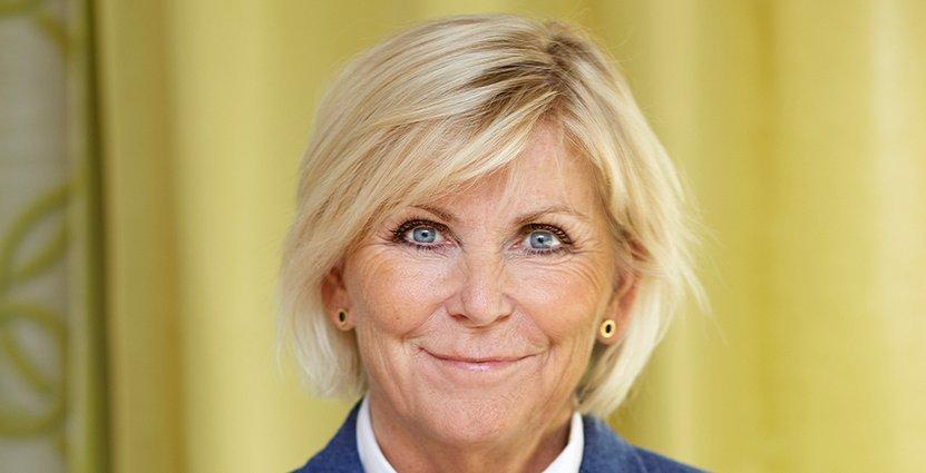 Kritisk. Visitas vd Eva Östling vill se långsiktiga lösningar snarare än Moderaternas förslag om höjd matmoms i skuggbudgeten.