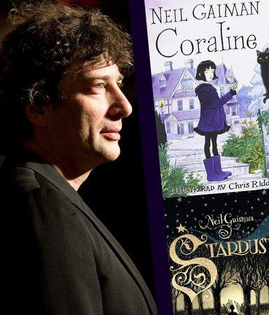 Författaren Neil Gaiman – fixstjärna och fantasyikon
