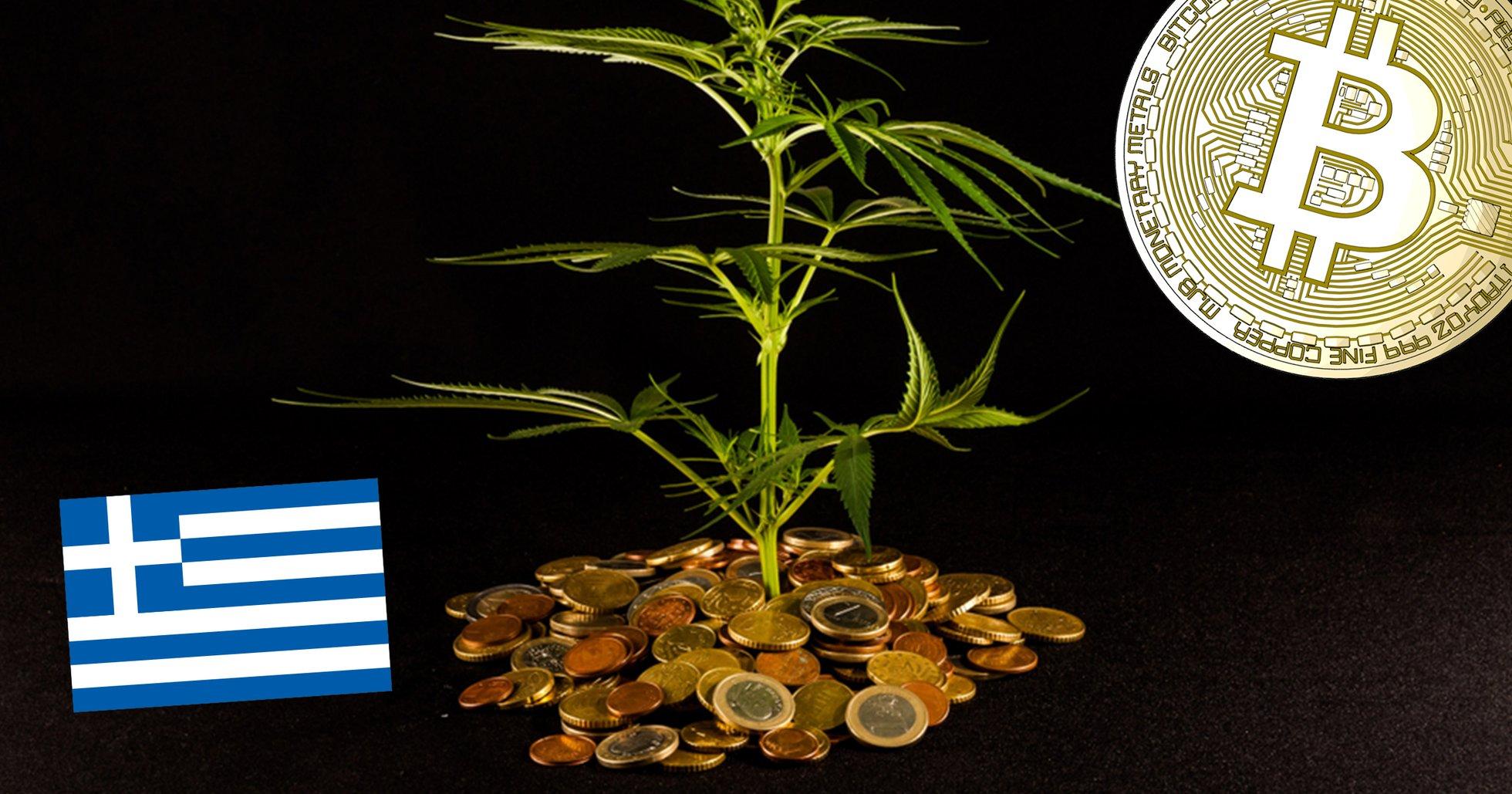 Grekiska miljardären skapar kryptovaluta – backad av cannabis