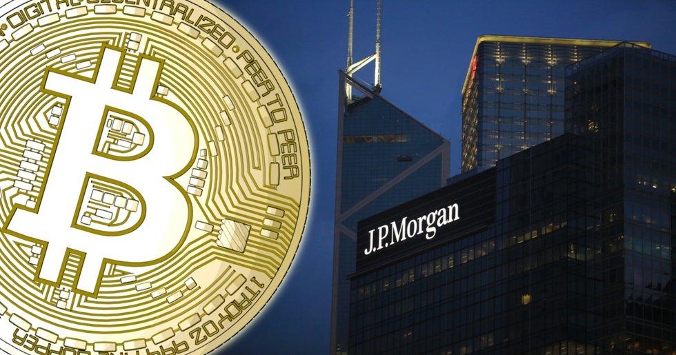 Storbanken JP Morgan uppmanar sina investerare att satsa på bitcoin